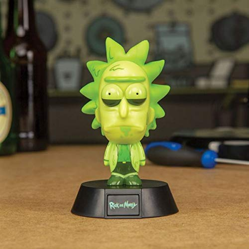 Paladone Products MINI LAMPARA RICK & MORTY TOXIC RICK, Multicolor