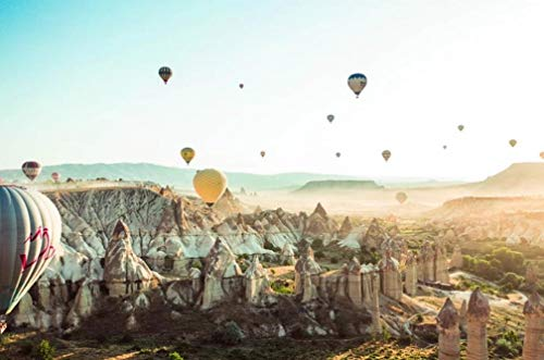 Schilderen op nummer DIY unieke foto ballonnen op vliegtuig