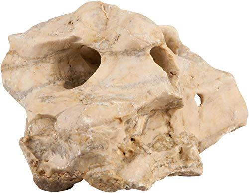 sera 32345 Rock Hole Stone S/M (Stück von 0, 6 bis 1, 4 kg) Lochgestein bzw. Lochsteine - Dekoration Felsen Malawi Tanganjika See - Naturstein Deko fürs Aquarium