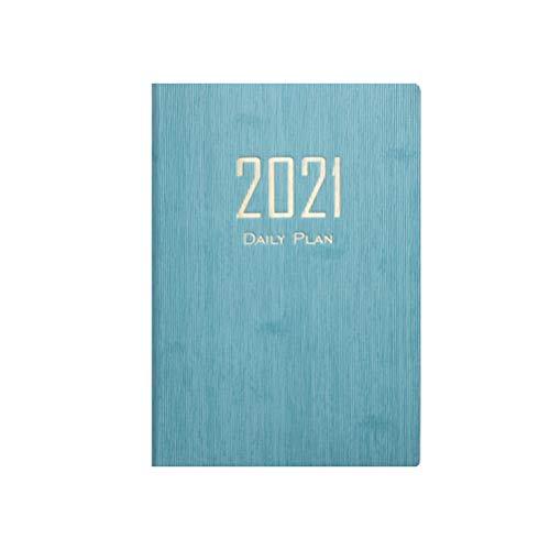 Dicker Papier Notizbuch A5 Notizbuch 2021 Kalender Tagebuch Notizbuch für Büro Schreibwaren Uni Student Schüler