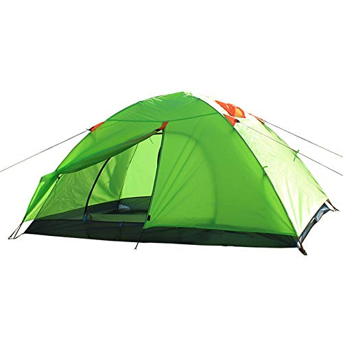 NBNBN Camping Tents for Family Beach Camping Tent Ideal for Family Camping Trips with Carry Bag and Quick Set-up (Color : Green, Size : One Size)