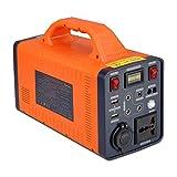 Generador Portátil 466WH Power Station Power Power Fuente De Alimentación Cobrada por Panel Solar/Pared Outletr para Acampar, Uso Doméstico, Refrigerador, Al Aire Libre
