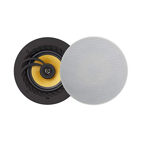 Echo Dot Compatible Bluetooth Ceiling Speaker - Lithe Audio (Pair Speakers...