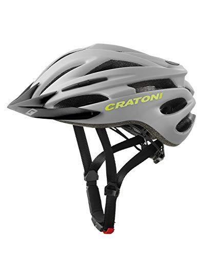 Cratoni Pacer+ Fahrradhelm (grau matt, L-XL (58-62 cm))