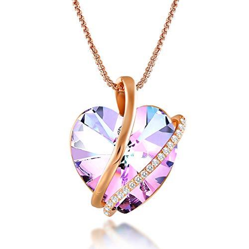 Le bracelet cœur cristal