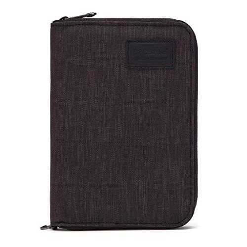 Pacsafe RFIDsafe compact travel Organizer Geldbörse, Black (schwarz), Einheitsgröße