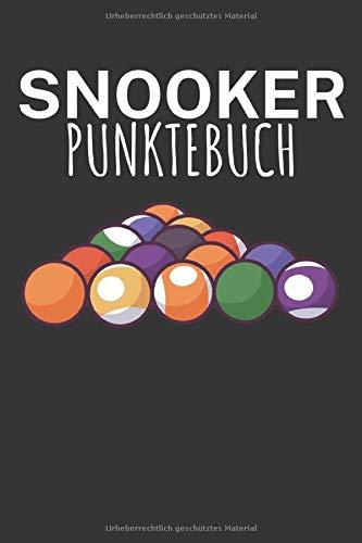 Snooker Punktebuch: Billard Punktebuch mit Billards Design und Spruch. 120 Seiten mit Tabellen. Perfektes Geschenk für Pool & Snooker Spieler.