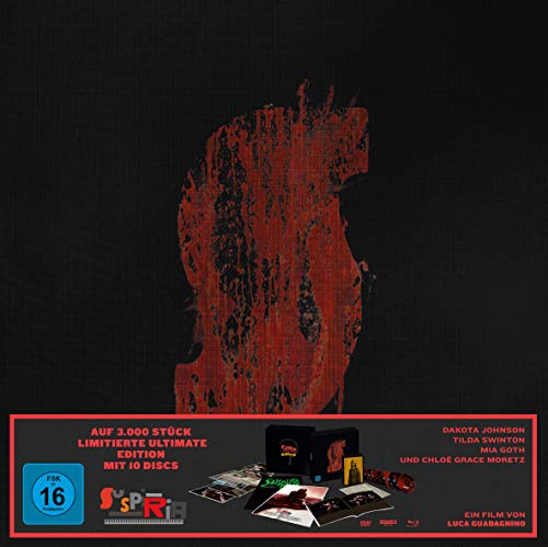 Suspiria - Ultimate Edition (2 4K UHDs + 3 Blu-rays + 2 DVDs + 3 Soundtrack CDs)
