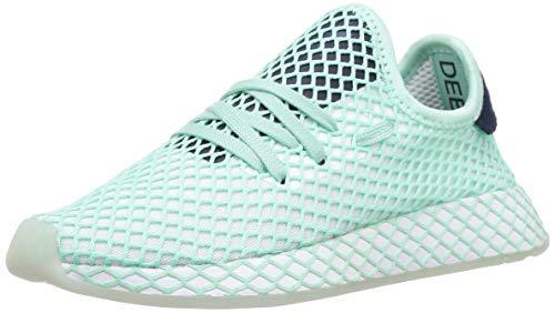 adidas Deerupt Runner W (Sp), Scarpe da Running Donna, Verde (Clear Mint/Ftwr White/Collegiate Navy Clear Mint/Ftwr White/Collegiate Navy), 36 2/3 EU