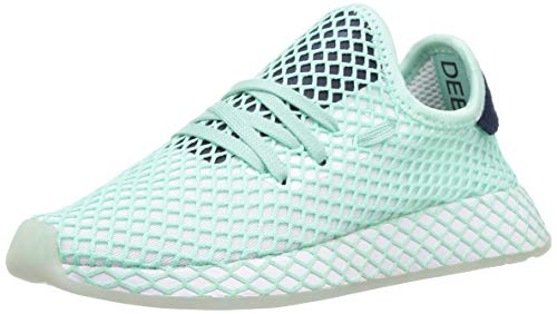 adidas Women's Deerupt Runner W (sp) Running Shoes, Green (Clear Mint/FTWR White/Collegiate Navy Clear Mint/FTWR White/Collegiate Navy), 8.5 UK