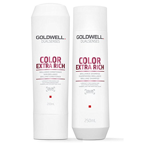 Goldwell DualSenses Color Extra Rich Brilliance Shampoo 250 ml und Conditioner 200 ml