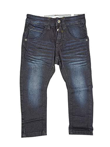 NAME IT NAME IT Nittago Kids Denim Jungen Jeans Baggy Straight Regular Kinder Jungs Hose Blau Dunkelblau, Farbe:Dunkelblau, Größe:122