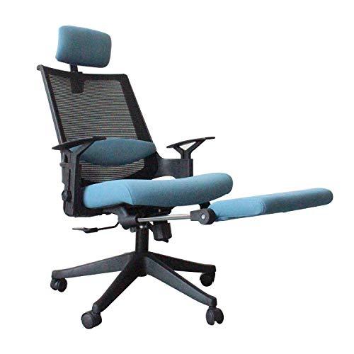 ViewSys Silla de oficina, Silla giratoria de ordenador, silla del ocio, silla de oficina que se puede subir y bajar, silla ergonómica, la inclinación de 150 grados, puede levantar y ajustar el reposac