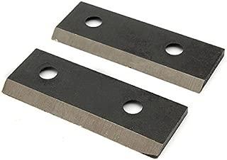 Hitommy 2pcs Steel Shredder Chipper Blade Set for MTD