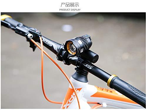 zihui Fiets licht koplamp nachtlampje kan worden uitgerust met USB opladen waterdichte mountainbike focussen accessoires skateboard universele