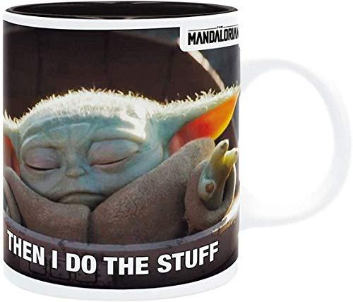 Abysse ABYstyle - The Mandalorian - Becher Tasse 320ml - Baby Yoda Grogu Meme Disney