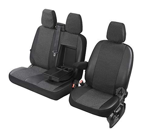 Sitzbezüge Viva passgenau geeignet für Mercedes Sprinter 2006-2017 2+1- Erste Reihe (1+2) 4D-DV-VI-3M-SC-280