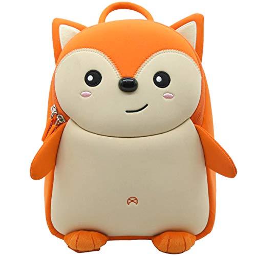 Pandana® Kinderrucksack Felix Fuchs mit Brustgurt für Jungen und Mädchen ab 2 Jahren für Kindergarten, Kita und Freizeit