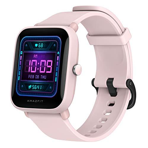 Amazfit Bip U Pro Smart Watch Reloj Inteligente con GPS Incorporado 60+ Modos Deportivos 5 ATM Fitness Tracker Oxígeno en Sangre Frecuencia cardíaca Monitor de sueño1.43 Pantalla táctil (Verde)