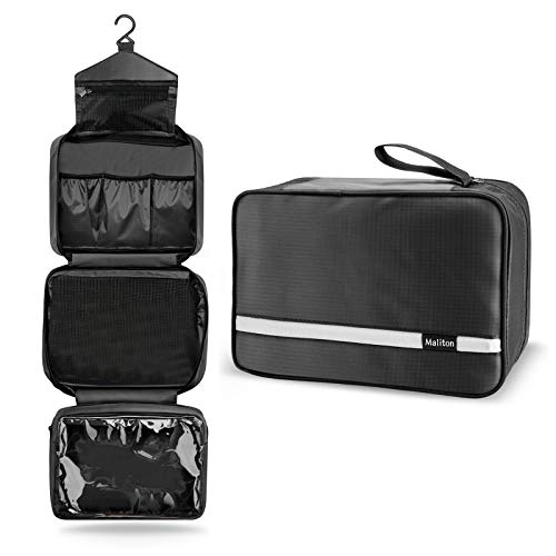 Toiletry Bag for Men & Women | Large Toiletry Bags for Traveling...