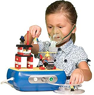 Pediatric Asthma Compact Compressor with Kit, Replacement Filters (Building Block)