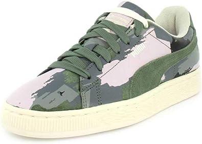 PUMA Womens Suede Classic Camo Sneaker