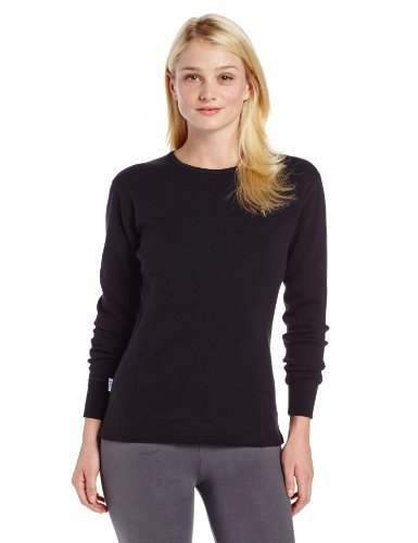 Minus33 Merino Wool Women's Tanana Expedition Crew, Black, Medium by Minus33 Merino Wool