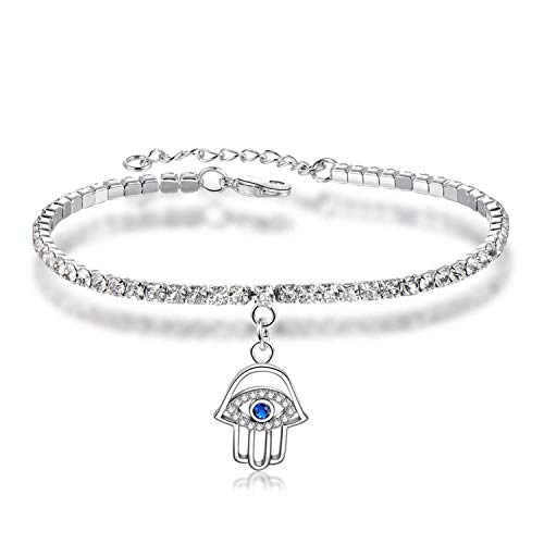 cheeseri 2019 Crystal Zircon Tennis Bracelets for Women Rose/White Gold Bracelet Zircon Box Chain Jewelry Pulseras Mujer AUB0124,AUB0163
