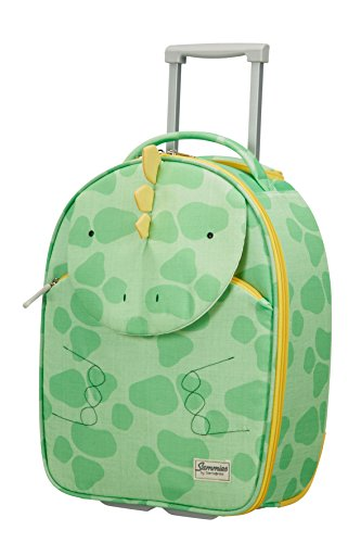 Samsonite Happy Sammies - Upright S Kindergepäck, 45 cm, 24 L, Grün (Dino Rex)