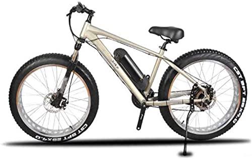 ZJZ Bicicleta eléctrica de Las bicis, 26 Pulgadas de diámetro de Rueda...