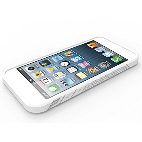 iPhone 6/6S Plus Case, OBLIQ [Flex Pro][White] Thin Slim Fit Armor Sturdy Bumper TPU Rubber Soft Flexible Shock Scratch Resist Protective Case for iPhone 6s Plus & iPhone 6 Plus