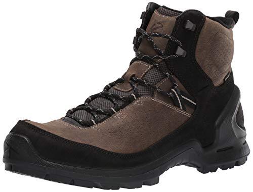 ECCO Męskie buty trekkingowe Biomterrainm, brązowy - Braun Black Tarmac 56665-43 EU