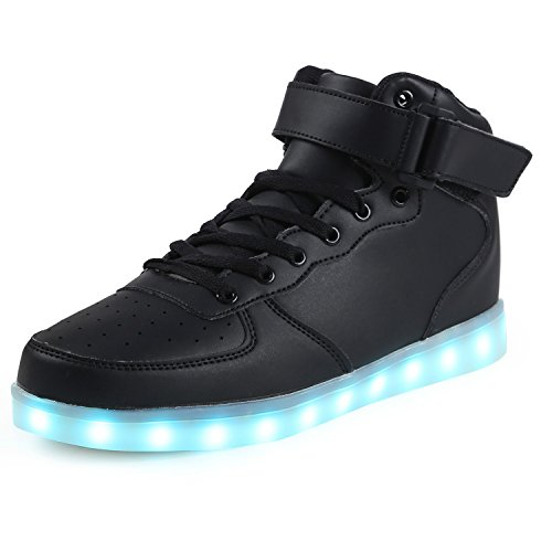 LED Shoes with Lights High Top Dance Light Up Sneakers Non SlipGrow Trainers for Adults Women