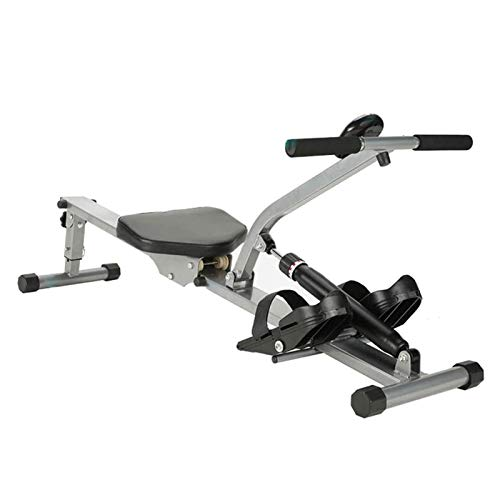 Folding Rowing Machines, Fitness Equipment Adjustable 12 Hydraulic Resistance, Double Track, Max User...