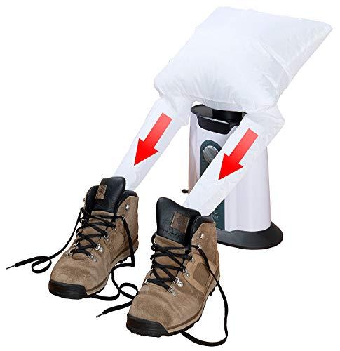 Sichler Haushaltsgeräte Winterschuh-Trockner: Schuhtrockner-Aufsatz für elektrische 2in1-Bügelpuppe BP-250 (Stiefelwärmer)