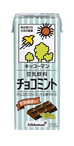 豆乳飲料 チョコミント 200ml×18本 紙パック