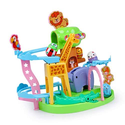 iBaste Kinder Orbital Slide Lernspielzeug, Marble Run Kugelbahn, Giraffe Tumbler Toy Interessantes Pädagogisches Dia-Spiel Für Kinder