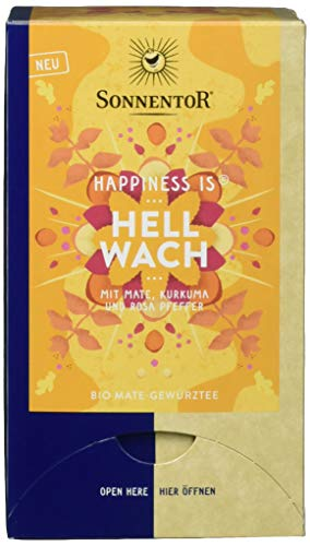 Sonnentor Bio Hellwach Tee Happiness is 30,6g (18 x 1,7g)