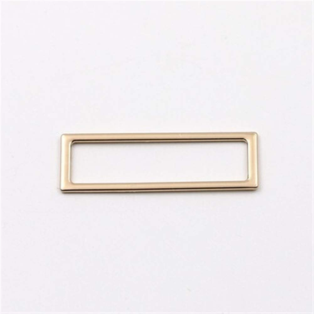 Roller Selling rankings design 6pcs Square Ring Buckle DIY Cheap mail order sales Key W Leather Bag