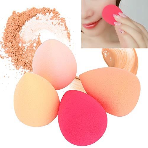 Filfeel wosume Éponges de Maquillage, Mini Forme de Goutte d'eau Maquillage Puff Liquid Foundation Cosmetic Powder Puff 4pcs