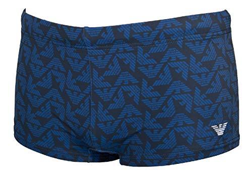 Emporio Armani Herren-Badebekleidung, Boxershorts oder Pool-Beachwear, Artikel 211725 0P406, 06935 Blu Navy - Navy Blue, Taglia 48