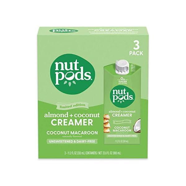 Nut Pods Coconut Macaroon Creamer Dairy Free
