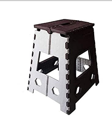 ABHED Folding Table 18 Inches Super Strong Step Stool for Adults and Kids, Kitchen Stepping Stools, Garden Step Stool, Office