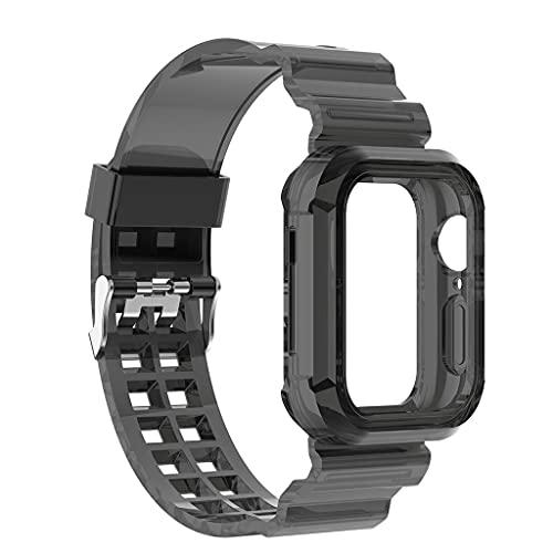 Bandas Deportivas Correas de Repuesto para Reloj Inteligente Compatible con Apple-Watch Pulsera Resistente al Sudor Pulsera Duradera