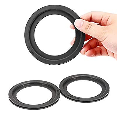 QUNSUN RV Toilet Flush Ball Ring Seal Kit Replacement Gaskets Sealand Parts for Dometic RV Toilets 300 310 320 - Equivalent to Part Number 385311658 (2 Pack)