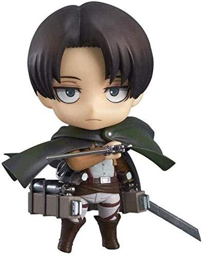 No Figuras Anime Attack On Titan Figure Levi Ackerman Nendoroid Anime Figma Estatua Regalo de cumpleanos Anime Figura Anime Figurita