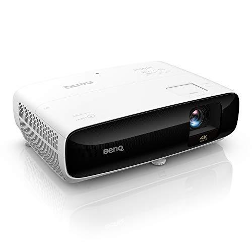 BenQ TK810 Proyector Inteligente para el Ocio doméstico de auténtico 4K con HDR y HLG, Preparado para Aplicaciones de Streaming, 3200 lúmenes, 92 % de Rec. 709
