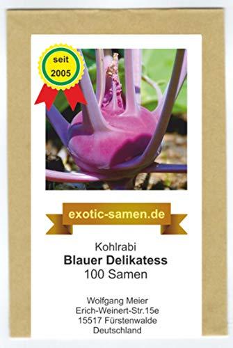 Kohlrabi - Blauer Delikatess -100 Samen