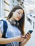 Mpow H20 Auriculares Diadema Bluetooth(Bluetooth 5.0, 30 Horas de Reproducir, Bajos Potentes, CVC 8.0), Cascos Diadema Plegable con Micrófono, Auriculares Over Ear para TV/Móvil/PC/Tableta