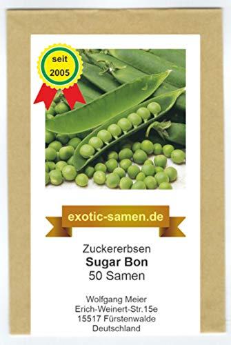 Zuckererbse - Sugar Bon - 50 Samen